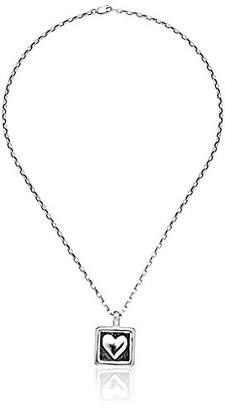 Zina Sterling Framed Heart Pendant Necklace