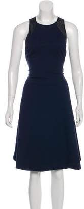 Jason Wu Lace-Trimmed Midi Dress