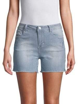 Kensie jeans Frayed Hem Denim Shorts