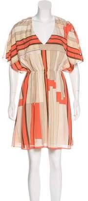 Alice + Olivia Silk Knee-Length Dress