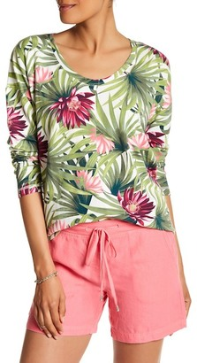Tommy Bahama Long Sleeve Print Tee $98 thestylecure.com