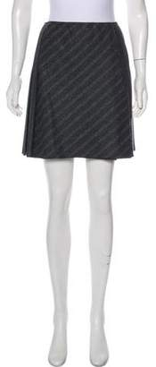 Philosophy di Alberta Ferretti Pleated Mini Skirt