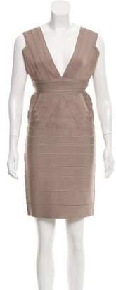 Herve Leger Martina Bandage Dress