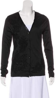 Etro Embroidered Button-Up Cardigan
