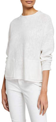 Eileen Fisher Petite Linen-Cotton Sweater