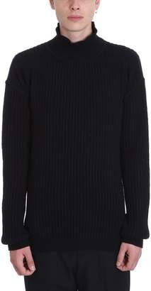 Rick Owens Fisherman Turtl Wool Sweater