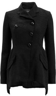 Proenza Schouler Asymmetrical Hem Tweed Blazer