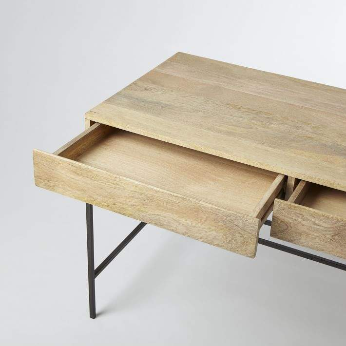 west elm Industrial Storage Desk