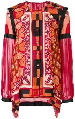 Alberta Ferretti buttoned blouse