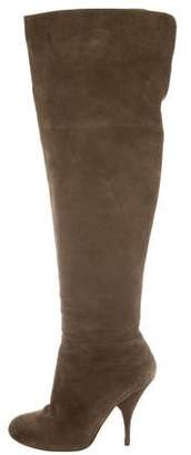 Philosophy di Alberta Ferretti Suede Over-The-Knee Boots