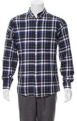 Patrik Ervell Plaid Casual Shirt