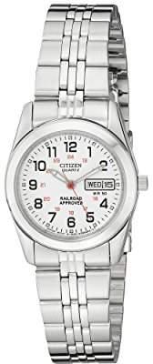 2xist Citizen Women's Quartz Stainless Steel Watch with Day/Date