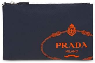 Prada Saffiano leather document holder