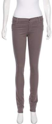 Alice + Olivia Mid-Rise Straight-Leg Jeans w/ Tags