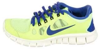 Nike Neon Free Run Sneakers