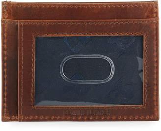 Joe's Jeans Men's Crunch Leather Credit Card Case
