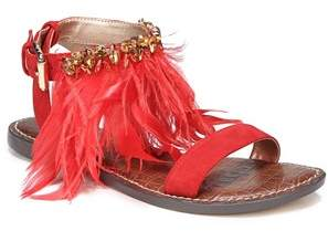 Sam Edelman Genevia Feather Sandal