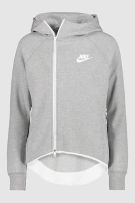 Next Womens Nike Tech Fleece Fill Zip Cape Hoody d891ca9e9d