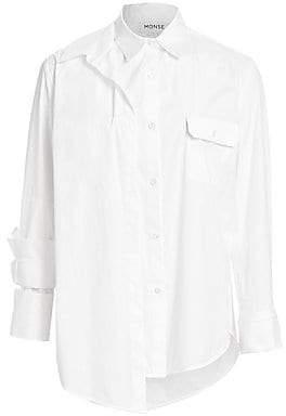 Monse Women's Layered Button Down Shirt