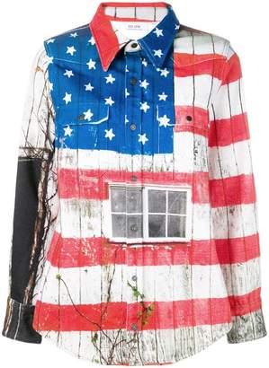 Calvin Klein Jeans Est. 1978 USA flag jacket