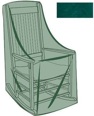 Plow & Hearth All-Weather Outdoor Furniture Cover For Rocking Chair, Green