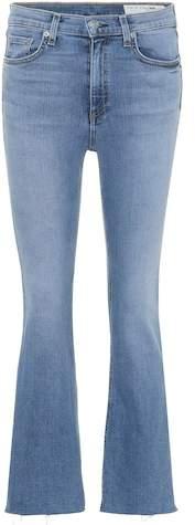 Cropped Jeans Hana aus Stretch-Baumwolle