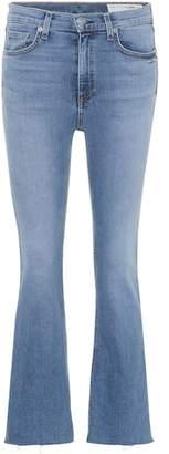 Rag & Bone Hana cropped bootcut jeans