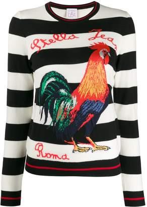 Stella Jean slim-fit striped jumper