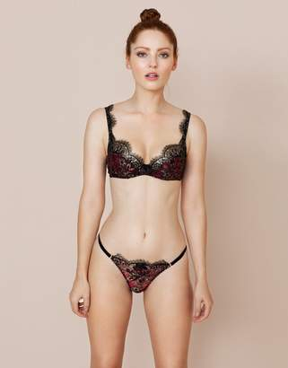 Agent Provocateur Yesmine Thong Pink and Gold