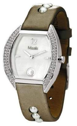 Misaki Women's Quartz Watch SHINE CRWSHINE with Leather Strap