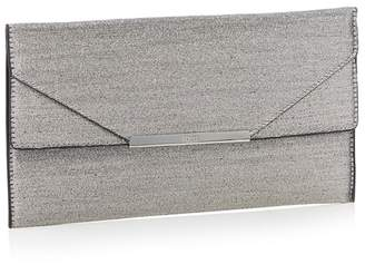 Faith Metallic Glitter 'Patricia' Envelope Clutch Bag