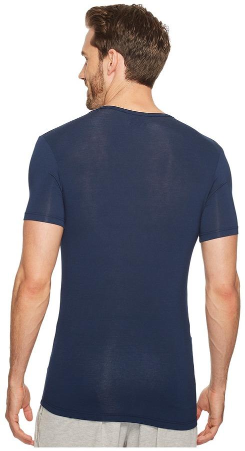 Calvin Klein Underwear Body Micro Modal S/S V-Neck U5563 Men's Short Sleeve Pullover