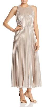 Jill Stuart Metallic Chiffon Gown