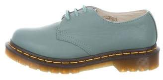 Dr. Martens Leather Round-Toe Oxfords