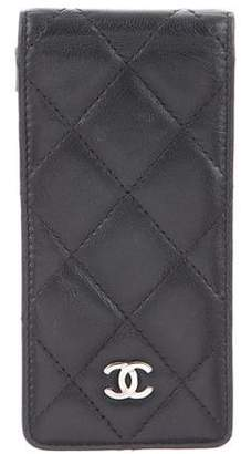 Chanel Quilted iPod Case