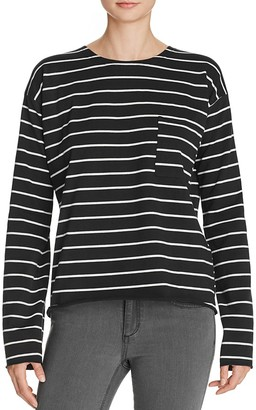KNOT SISTERS Striped Pocket Tee $69 thestylecure.com