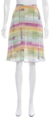Diane von Furstenberg Knee-Length Silk Skirt