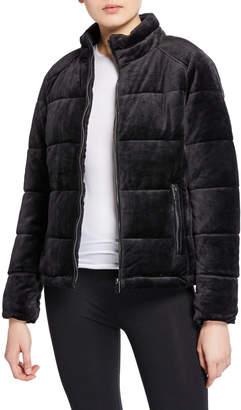 Marc Ny Performance Velvet Super Puffer Jacket