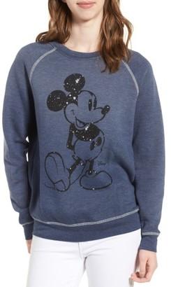 Women's Junk Food Mickey Mouse Sweatshirt $95 thestylecure.com