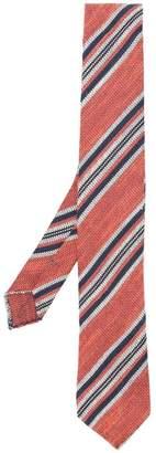 Ermenegildo Zegna striped pattern tie