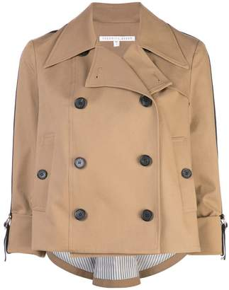 Veronica Beard double breasted trench jacket