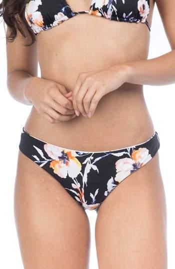 The Bikini Lab Watercolors Reversible Hipster Bikini Bottoms