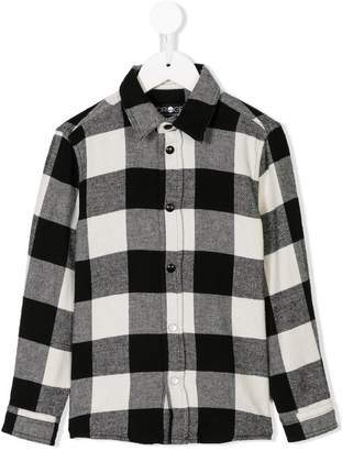 Hydrogen Kids check shirt