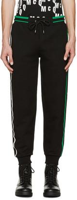 McQ Alexander Mcqueen Black Striped Lounge Pants $295 thestylecure.com
