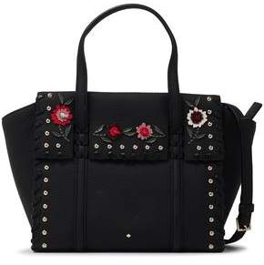 Kate Spade Madison Daniels Studded Floral-appliqued Shoulder Bag