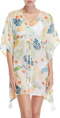 Mystique Beach Lunch Lounge Paloma Printed Cover-Up Dress