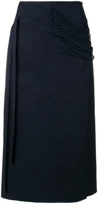 Calvin Klein tie waist skirt