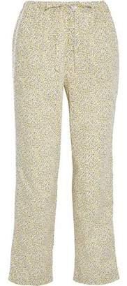 Sleepy Jones Marina Printed Cotton-Poplin Pajama Pants