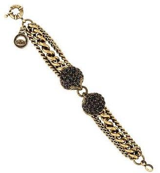 Giles & Brother Multistrand Siren Bracelet $95 thestylecure.com
