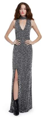 Alice + Olivia Arial Sequin Sleeveless Gown